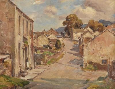 Lot 417 - Owen Bowen ROI PRCamA (1873-1967) Yorkshire...