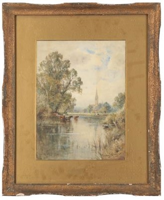 Lot 427 - Henry John Kinnaird (1880-1920) Cattle...