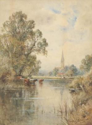 Lot 428 - Henry John Kinnaird (1880-1920) ''View of...