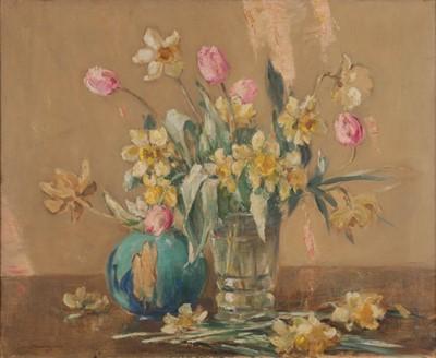 Lot 437 - Owen Bowen ROI (1873-1967) ''Spring'' Signed...