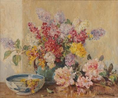 Lot 438 - Owen Bowen ROI (1873-1967) ''Summers early...