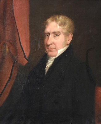 Lot 358 - British School (19th century) Portrait of a...