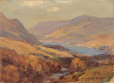 Lot 440 - Owen Bowen ROI (1873-1967) Mountainous...