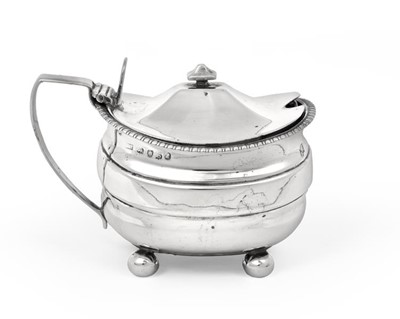 Lot 2011 - A George III Silver Mustard-Pot, Maker's Mark...