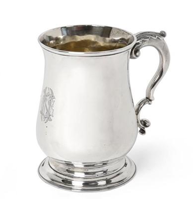 Lot 2016 - A George III Silver Mug, by William Cripps,...