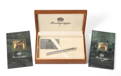 Lot 2057 - A Montegrappa Silver Fountain-Pen, With...