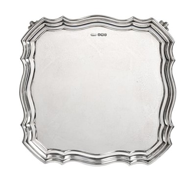 Lot 2086 - A George V Silver Salver, by Charles William...