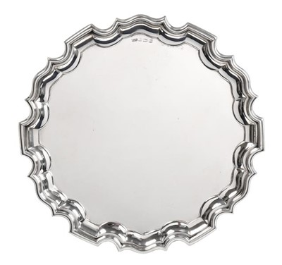Lot 2090 - A George VI Silver Salver, by Capewell and...