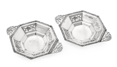 Lot 2098 - A Pair of George VI Silver Dishes, by Asprey...