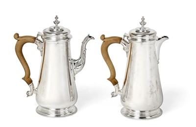 Lot 2102 - An Elizabeth II Silver Coffee-Pot and...
