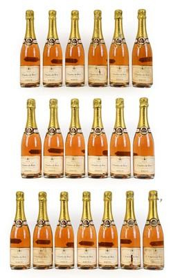 Lot 5014 - Charles de Fère Brut Rosé (nineteen bottles)
