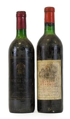 Lot 5028 - Château Peyrabon 1964 Haut-Médoc (one bottle),...