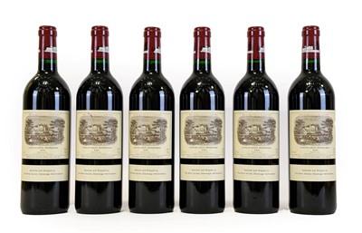 Lot 5033 - Château Lafite Rothschild 1996, Pauillac (six...
