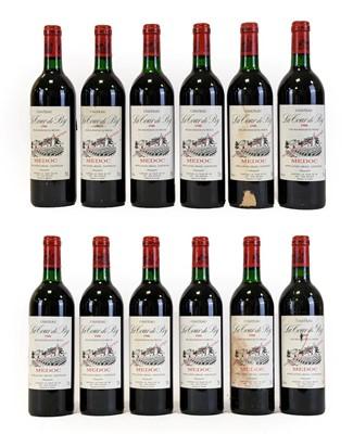 Lot 5035 - Château Le Tour De By 1988 Medoc (twelve bottles)