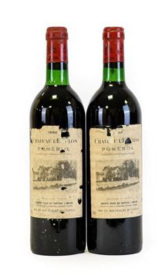 Lot 5040 - Château l'Enclos 1982 Pomerol (two bottles)