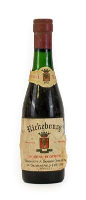 Lot 5042 - Moreau-Fontaine Richebourg 1966 (one half bottle)