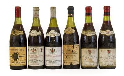 Lot 5043 - Morey-St. Denis 1971 Moillard (two bottles),...