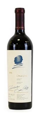 Lot 5059 - Opus One 1998 Napa Valley Red Wine, Mondavi &...