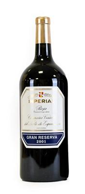 Lot 5066 - Imperial Gran Reserva 2001, Rioja, in original...