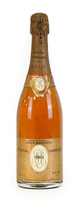 Lot 5007 - Louis Roederer 1969 Cristal Champagne (one...
