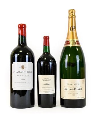 Lot 5081 - Laurent-Perrier Brut Champagne NV, in wooden...
