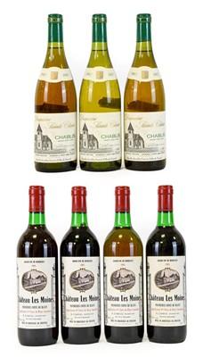 Lot 5082 - Château Les Moines 1985 Grand Vin De Bordeaux...