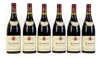 Lot 5087 - Alain Voge 1999 Cornas (six bottles)