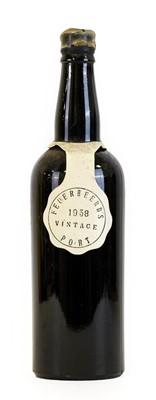 Lot 5091 - Feuerheerd's 1958 Vintage Port (one bottle)