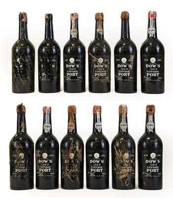Lot 5092 - Dow's 1963 Vintage Port (twelve bottles)