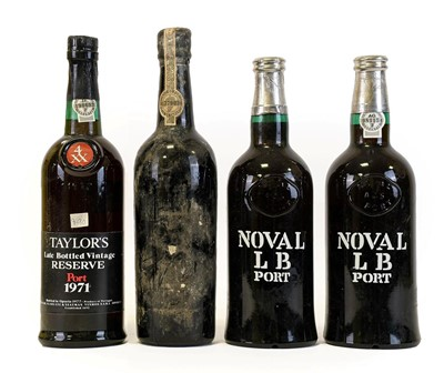 Lot 5095 - Quinta Do Noval LB Port (two bottles),...