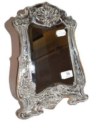 Lot 74 - An Edward VII Silver Photograph-Frame, by...