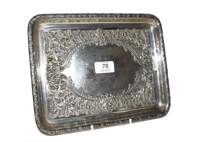 Lot 78 - A George V Silver Dressing-Table Tray, by...