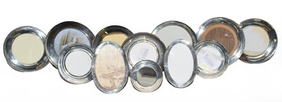 Lot 84 - A collection of Twelve Various Silver-Mounted...