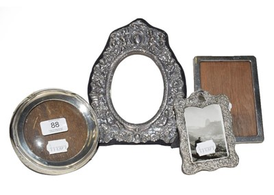 Lot 88 - Four Various Silver Photograph-Frames, two...