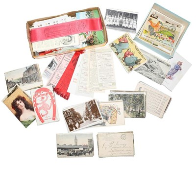 Lot 72 - Three small boxes of postcards