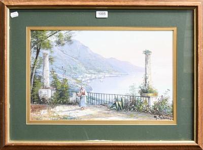Lot 1005 - M Gianni (20th century) Italian, three signed...