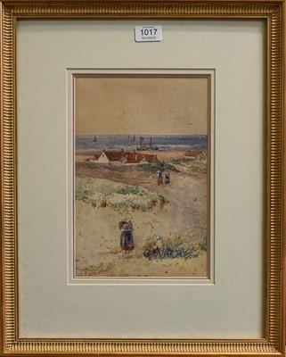 Lot 1017 - Thomas Bush Hardy, RBA, 'Katwijk-Am-Zee',...