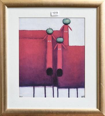Lot 1018 - After Dan Kesler 'Tres Amigos' print, together...