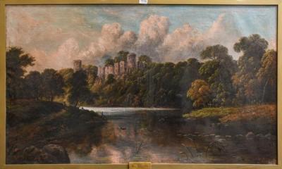 Lot 1019 - J Wilton Adcock (1863-1920) View of Warwick...