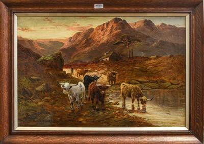 Lot 1020 - Samuel Seymour (19th century) 'Near Glencoe,...