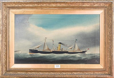 Lot 1025 - W. Hoopen (early 19th/20th century) A naive...
