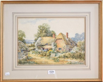 Lot 1029 - English school (19th/20th century) Thatched...