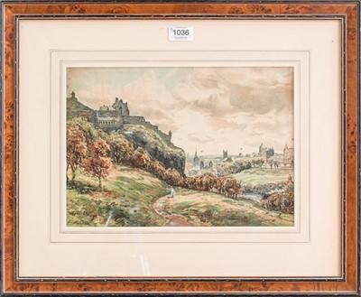 Lot 1036 - John Hamilton Glass (1890-1925) A view of...