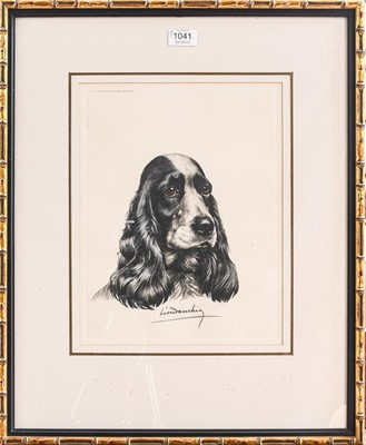 Lot 1041 - A collection of 20th century Spaniel prints,...