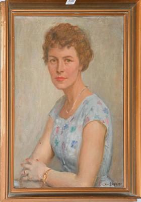 Lot 1049 - Vinkler Laszlo (1912-1980) Hungarian, portrait...