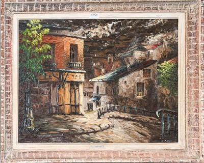 Lot 1050 - Leon Schwartz-Abrys (1905-1990)...