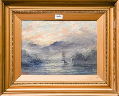 Lot 1051 - J.A Daniel (20th century) ''Out for the fish,...