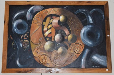 Lot 1059 - Tom Guy (Contemporary) ''Celtic Echoes'',...