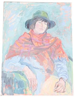 Lot 1073 - Deirdre Borlase (1925-2018) Still life of...
