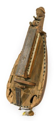 Lot 3060 - Hurdy Gurdy the instrument used by Spencer...